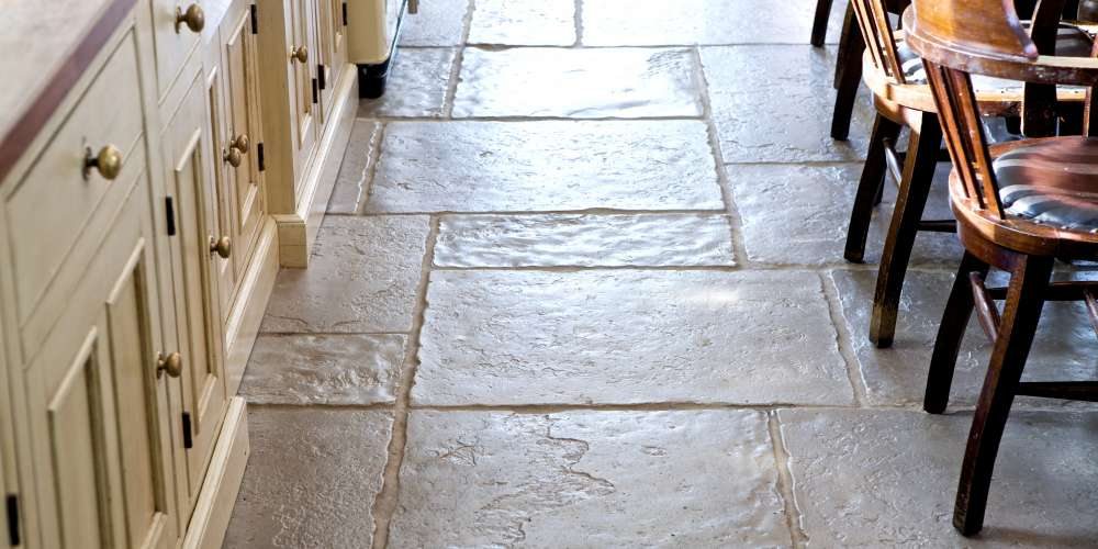 Flagstones installation in East Lothian