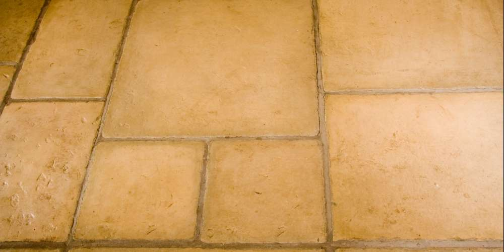 Flagstones installation in Gloucestershire