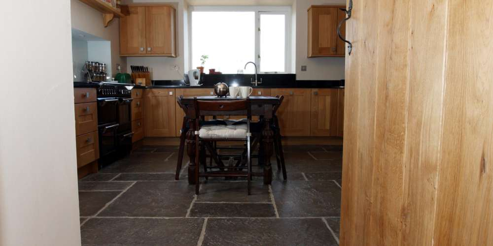 Flagstones installation in Perthshire