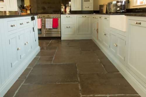Old Mill Heritage Grey, Antique Oil finish and Satin Sealant