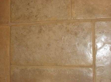 French Limestone with Satin Sealant