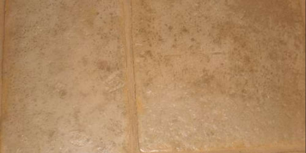 French Limestone with Satin Sealant