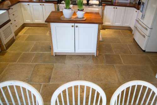 Old Mill and Old York in a combination of Honey Gold, Cotswold and Limestone