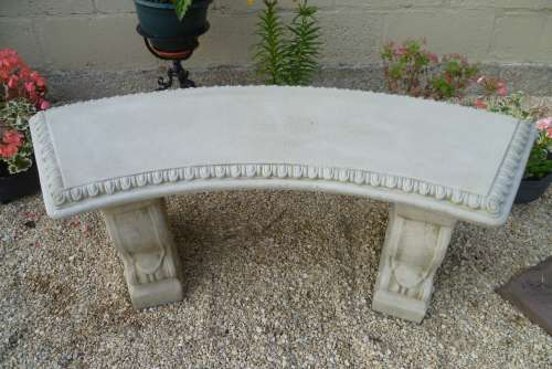 Curved Scalloped Bench   £54.17 +VAT