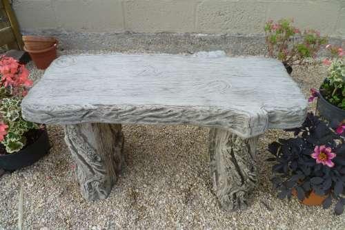 Straight Woodland Bench  £65.00