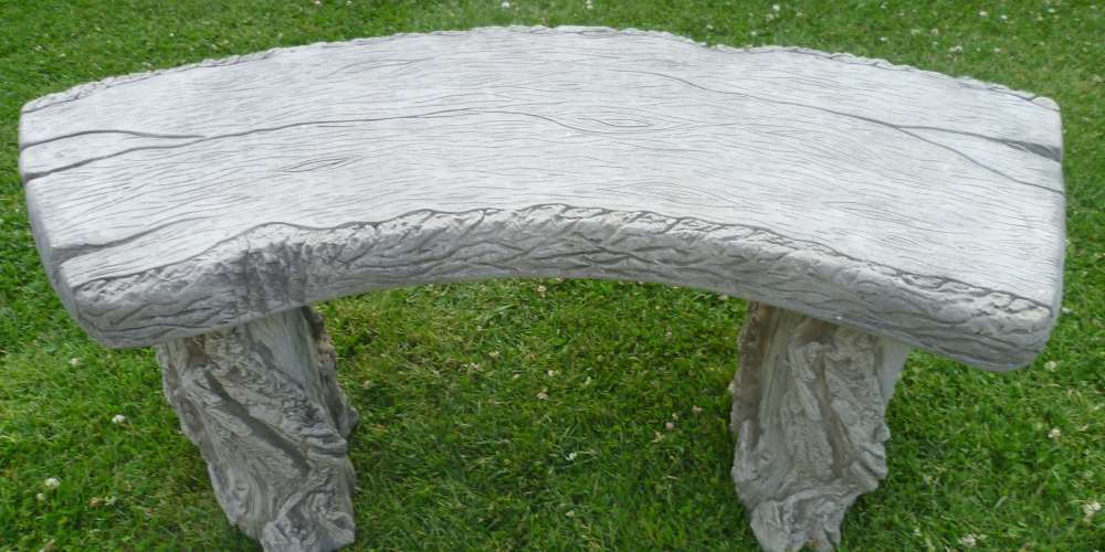 Curved Woodland Bench   £65.00