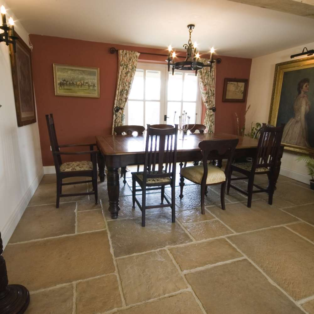 Home Interior Products: Interior Flagstone Flooring To Give A Classic Feel To Your