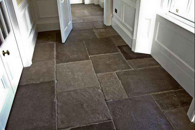 Flagstone floor for cottage