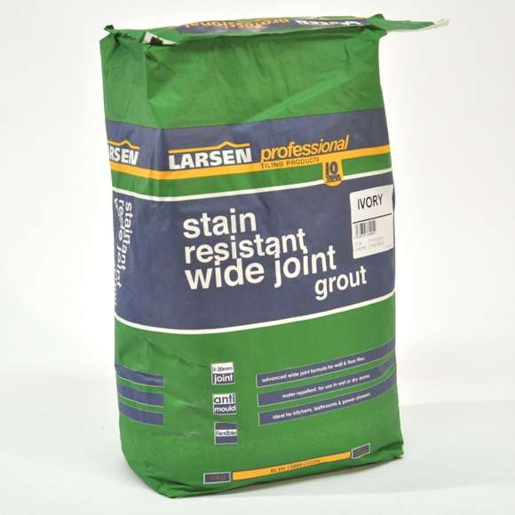 Larsen Professional Stain Resistant Wide Joint Grout