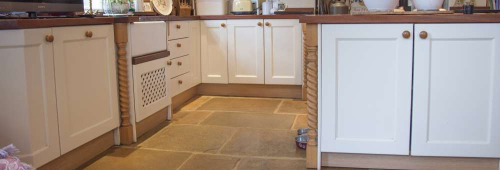 Old Mill and Old York flagstone floor