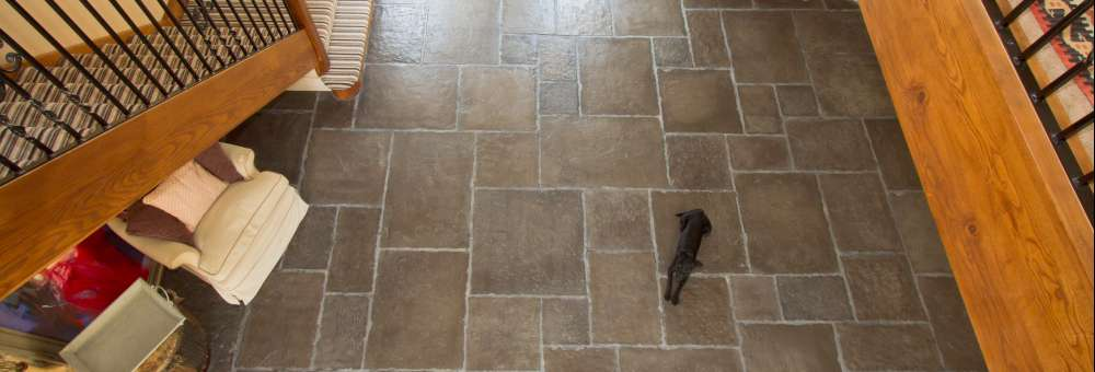 Old Mill Heritage Grey, Antique Oil finish with Satin Sealant